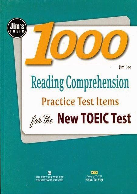 tài liệu luyện thi toeic hay nhất - Jim's Toeic 1000 Reading Comprehension