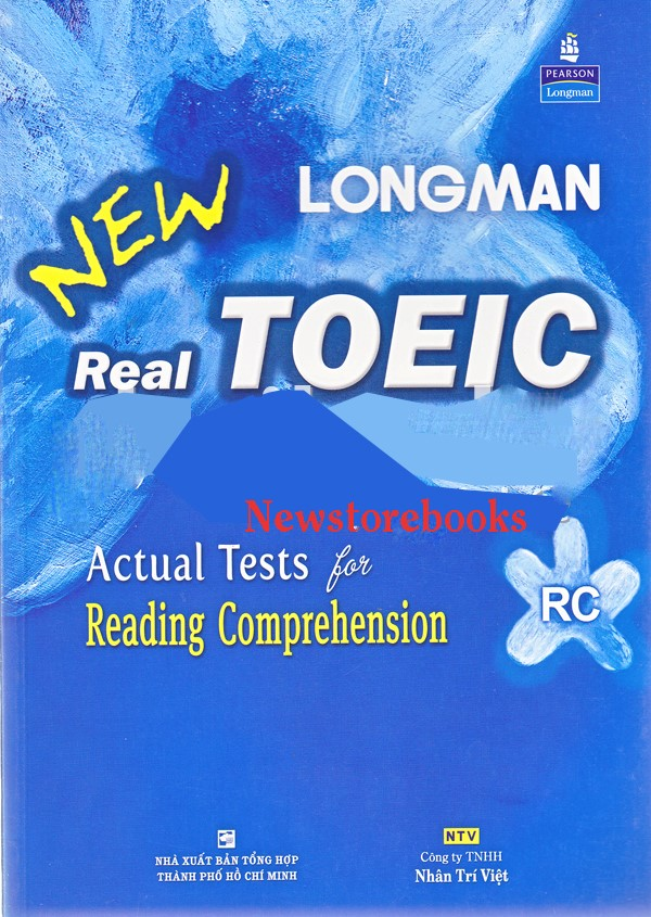 Sách New Real Longman TOEIC Actual Tests for Reading Comprehension-anhngumshoa