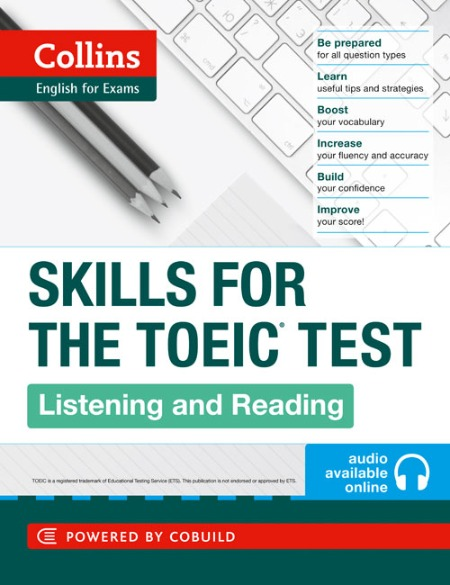 Skill for the TOEIC test listening and reading