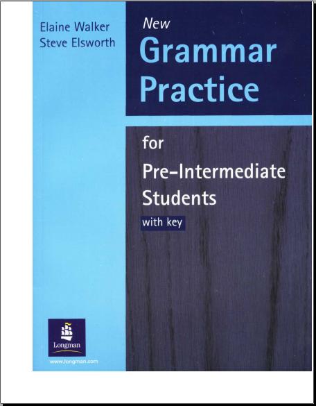 Sách học ngữ pháp TOEIC - Grammar Practice for Pre-intermediate Students
