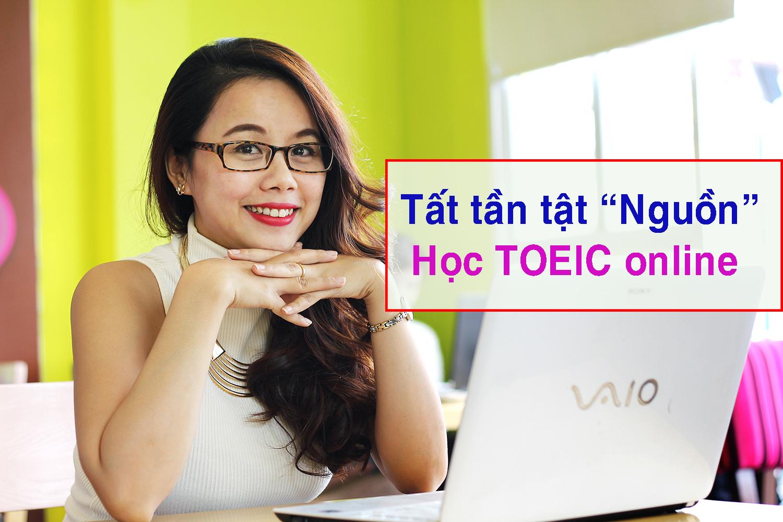 Tất tần tật nguồn học TOEIC online