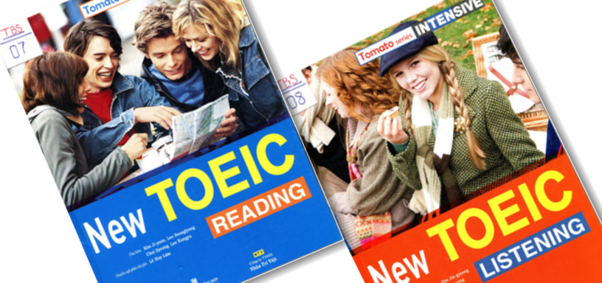 Tomato TOEIC Intensive new Reading & Tomato TOEIC Intensive new listening