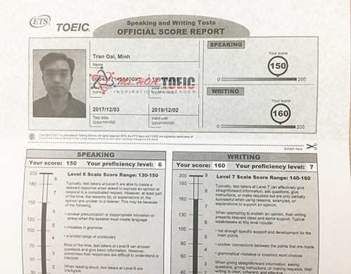 toeic speaking questions 4-6 samples