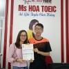 Mất gốc đạt 830 TOEIC chỉ sau một khóa học 2 tháng.