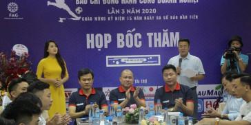 [Người đưa tin] IMAP Việt Nam tài trợ giải bóng đá Báo chí đồng hành cùng doanh nghiệp lần thứ 3