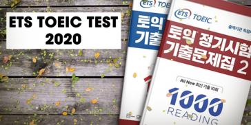 DOWNLOAD TRỌN BỘ ETS TOEIC TEST UPDATE 2020 MỚI NHẤT {PDF + AUDIO}