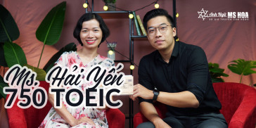 Trần Thị Hải Yến - Tăng 350 Điểm chỉ trong 1 tháng học TOEIC online sau 20 năm bỏ bê tiếng Anh