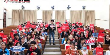 Hội thảo Vượt qua nỗi sợ tiếng Anh - Đại học Bách Khoa Đà Nẵng ngày 16/1/2021