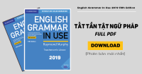 {Full PDF} Sách English Grammar in Use mới nhất