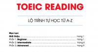 Trọn bộ tài liệu TOEIC READING từ cơ bản đến nâng cao {Full PDF}