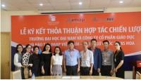 [Dân trí] - Đại học Đại Nam ký kết hợp tác chiến lược cùng Anh ngữ Ms Hoa TOEIC