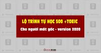 Lộ trình luyện thi TOEIC, học TOEIC Mục tiêu 250 - 500