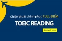 TOEIC Reading: Chiến Thuật Làm Bài Thi Reading Hiệu Quả