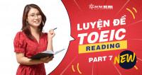 Luyện thi TOEIC Reading Part 7 theo format đề mới nhất