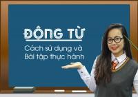 Động từ trong tiếng anh - cách sử dụng và bài tập thực hành có đáp án