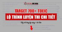 Lộ trình luyện thi TOEIC cho mục tiêu 500-750