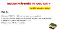 Phương pháp luyện thi TOEIC Listening Part 4: Short Talks chi tiết nhất (FORMAT MỚI)