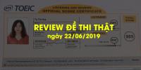 Review đề thi TOEIC format mới tháng 06 tại IIG Việt Nam | Anh ngữ Ms Hoa