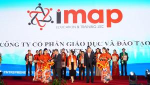 [Giáo dục thời đại] Công ty IMAP lọt top Doanh nghiệp tiêu biểu ASEAN 2021