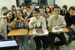 Lớp Luyện thi TOEIC A73, A74 Tháng 10/2012