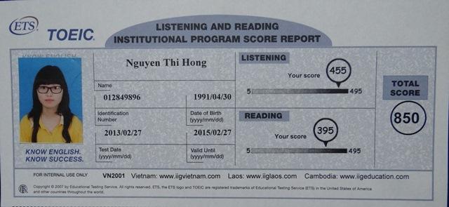 Vinh danh cô học trò xinh xắn B74_ Nguyễn Thị Hồng