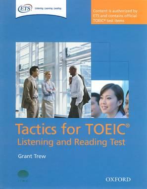 Tài liệu luyện thi TOEIC: Sách Tactics for TOEIC – Listening và Reading Test