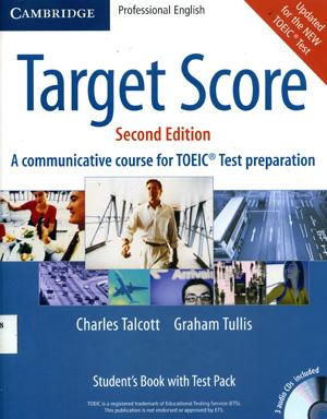 Tài liệu luyện thi TOEIC: Sách Target Score