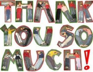My gratefulness!