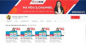 KÊNH VIDEO LUYỆN THI TOEIC MS HOA TOEIC