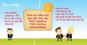 Khóa học Tiếng Anh Giao tiếp Công việc đột phá Pro - Toeic Speaking & Writing