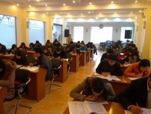 Ms Hoa TOEIC tổ chức thi thử cho nhân viên Công ty Viễn thông quốc tế