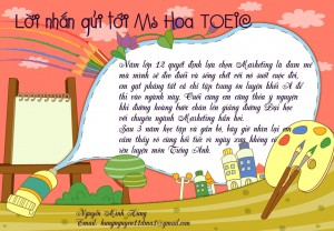Chúng em hân hạnh chào đón Ms Hoa đến với thành phố mang tên Bác - Nguyễn Minh Hùng