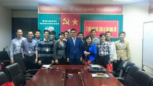 Không khí học tập sôi nổi của cán bộ Công ty Viettel tại khu vực Hà Nội