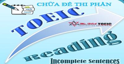 Những lý do cần học Tiếng Anh và Tài liệu chữa đề Toeic Reading
