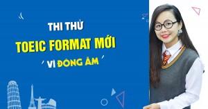 Anh ngữ Ms Hoa tổ chức thi thử TOEIC Format mới – Vì đông ấm