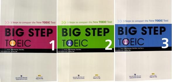 {FULL PDF + AUDIO} Trọn bộ Big Step TOEIC 1, 2, 3