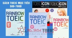 Rainbow TOEIC - Vũ khí TOEIC không thể thiếu cho target 500 - 750