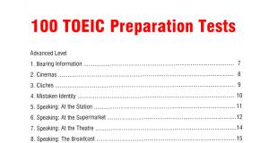 100 Bài Luyện Thi TOEIC Ẵm Trọn Điểm Part 5 (Có đáp án chi tiết)