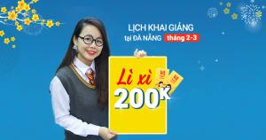 Lịch Khai Giảng các lớp TOEIC tháng 2-3/2018 tại Đà Nẵng