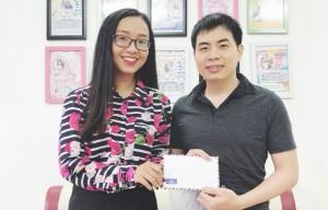 Chứng chỉ 845 TOEIC chạm tay kỹ sư IT Phạm Hồng Đăng
