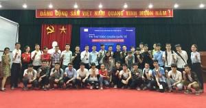 Anh ngữ Ms Hoa tổ chức chương trình thi thỉ TOEIC chuẩn quốc tế tại khoa cơ khi - ĐH Công nghệ Giao thông Vận tải