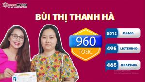 BỨT  PHÁ GIỚI HẠN BẢN THÂN – ĐẠT 960 TOEIC SAU 1 KHÓA HỌC