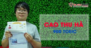 Hành trình chinh phục 900 TOEIC  của nữ sinh Thăng Long