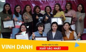 IMAP – TỔNG KẾT VÀ VINH DANH TƯ VẤN VIÊN XUẤT SẮC - QUÝ 3/2018