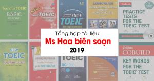 Tài liệu tự học TOEIC do Ms Hoa biên soạn & tổng hợp