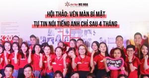 Hội thảo Đà Nẵng - Vén màn bí mật: Tự tin nói tiếng Anh chỉ sau 4 tháng