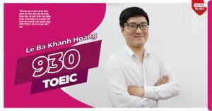 Chàng IT TRẺ THẦN TỐC CHINH PHỤC TOEIC với 930