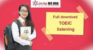 Trọn bộ tài liệu TOEIC listening Full download