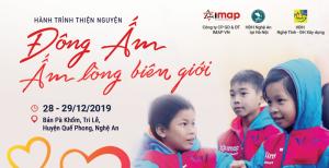 Đông ấm - Ấm lòng biên giới cùng IMAP Việt Nam