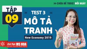 Khóa Luyện đề TOEIC online - Unit 9: Chữa đề TOEIC Listening Part 1 Test 3  | Anh ngữ Ms Hoa